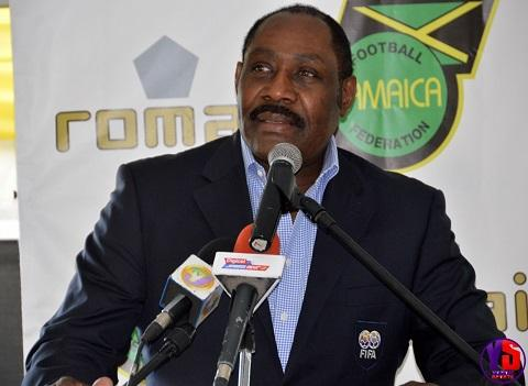 President of the Jamaica Football Federation (JFF) Captain Horace Burrell