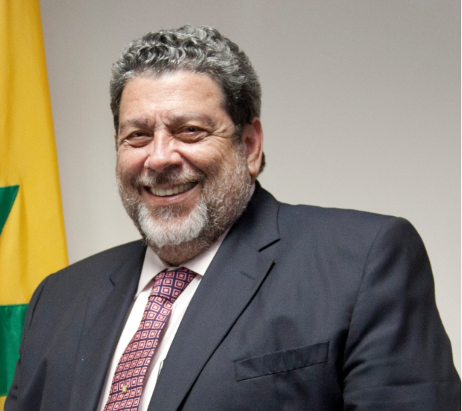 Prime Minister of Saint Vincent and The Grenadines, the Hon. Ralph Gonsalves.