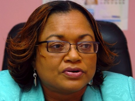 Vice-President of the Jamaica Confederation of Trade Unions, Helene Davis Whyte