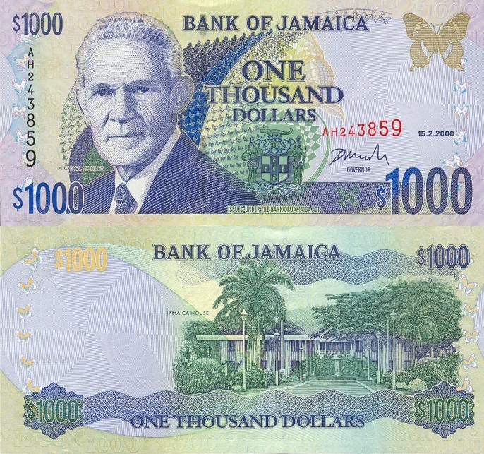 Jamaica Currency Rate Exchange