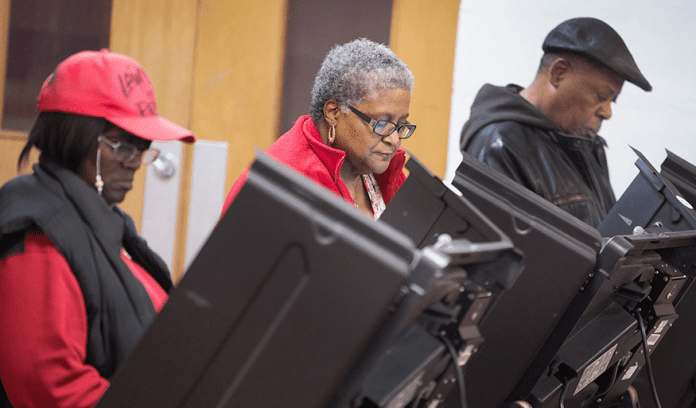 With the Democratic primary campaign moving from Iowa and New Hampshire to Nevada and South Carolina both democratic candidates are fighting for support from black voters