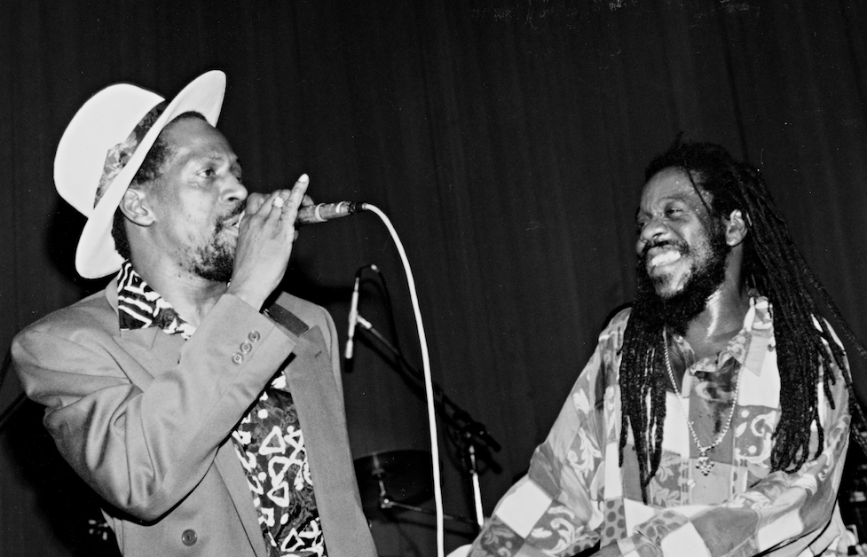 Dennis Brown and Gregory Issacs