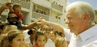 Jimmy Carter in Cuba