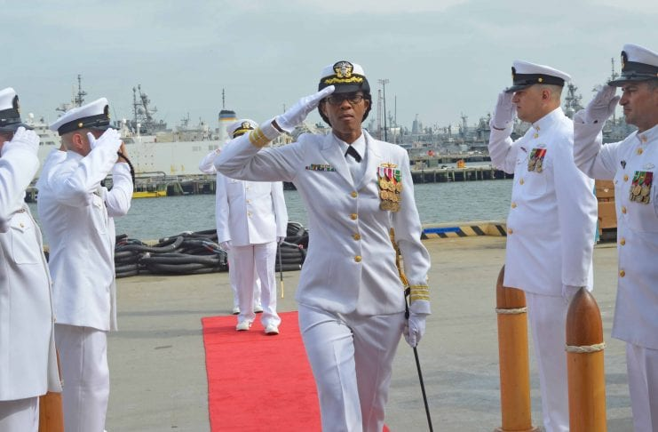 Jamaican Janice Smith makes history as Navy Commander