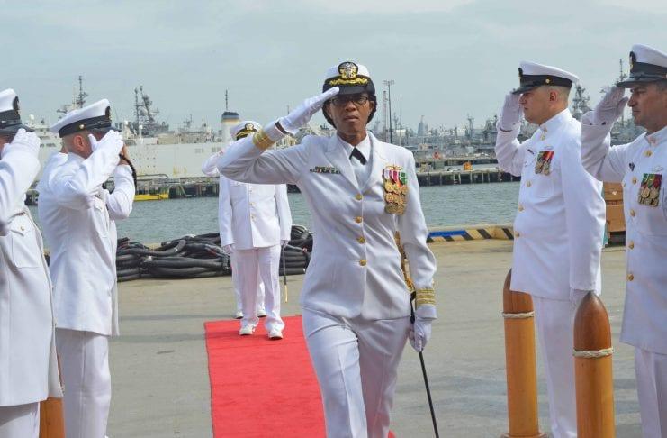 Jamaican Janice Smith makes history as Navy Commander