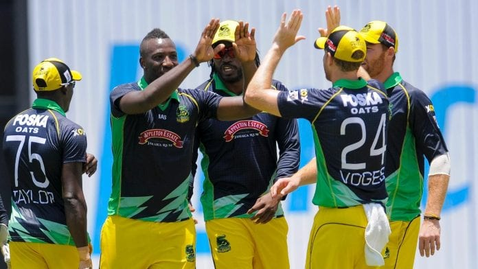 Introducing Jamaica Tallawahs' Timroy Allen