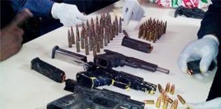 Guns seized in TT