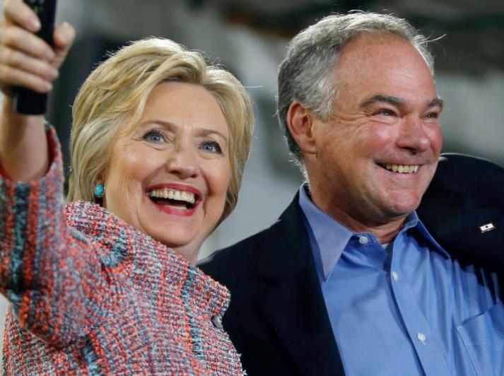 Hillary Clinton and Tim Kane
