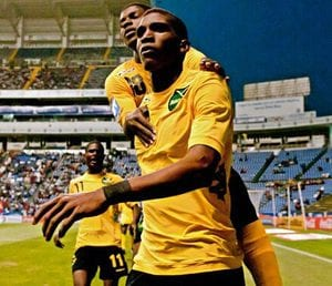 Damion Lowe scored the winner in the 71st minute to hand Reggae Boyz victory