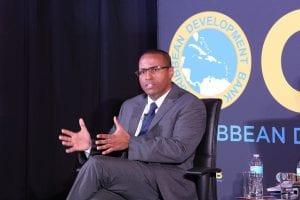 Director of Economics at CDB, Dr. Justin Ram,
