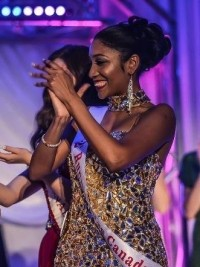 Lilliane Marie Lawrence Ulysse copped third placed in the Miss Canada 2017 beauty pageant