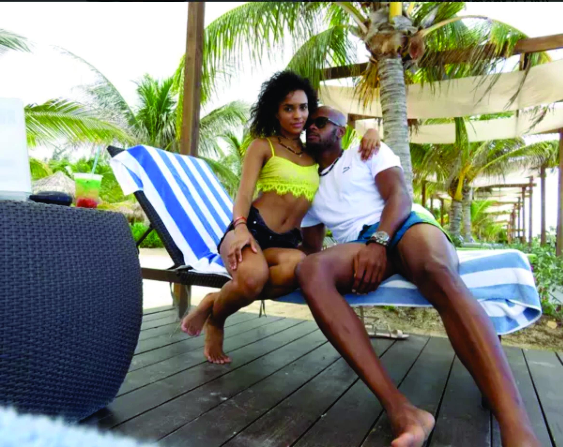 Asafa Powell engaged to Alyshia Akua Miller