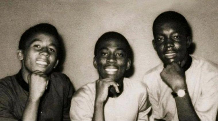 Young Bob Marley Peter Tosh and Bunny Wailer Bunny Wailer museum