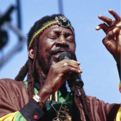 bunny wailer performing