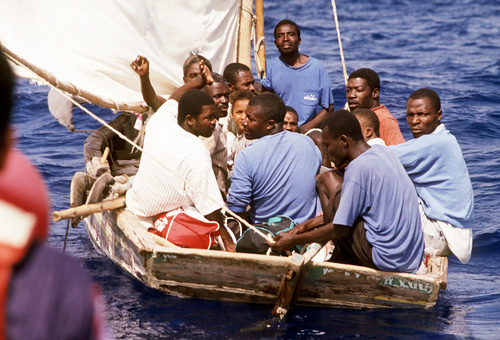 Image result for haitian refugees
