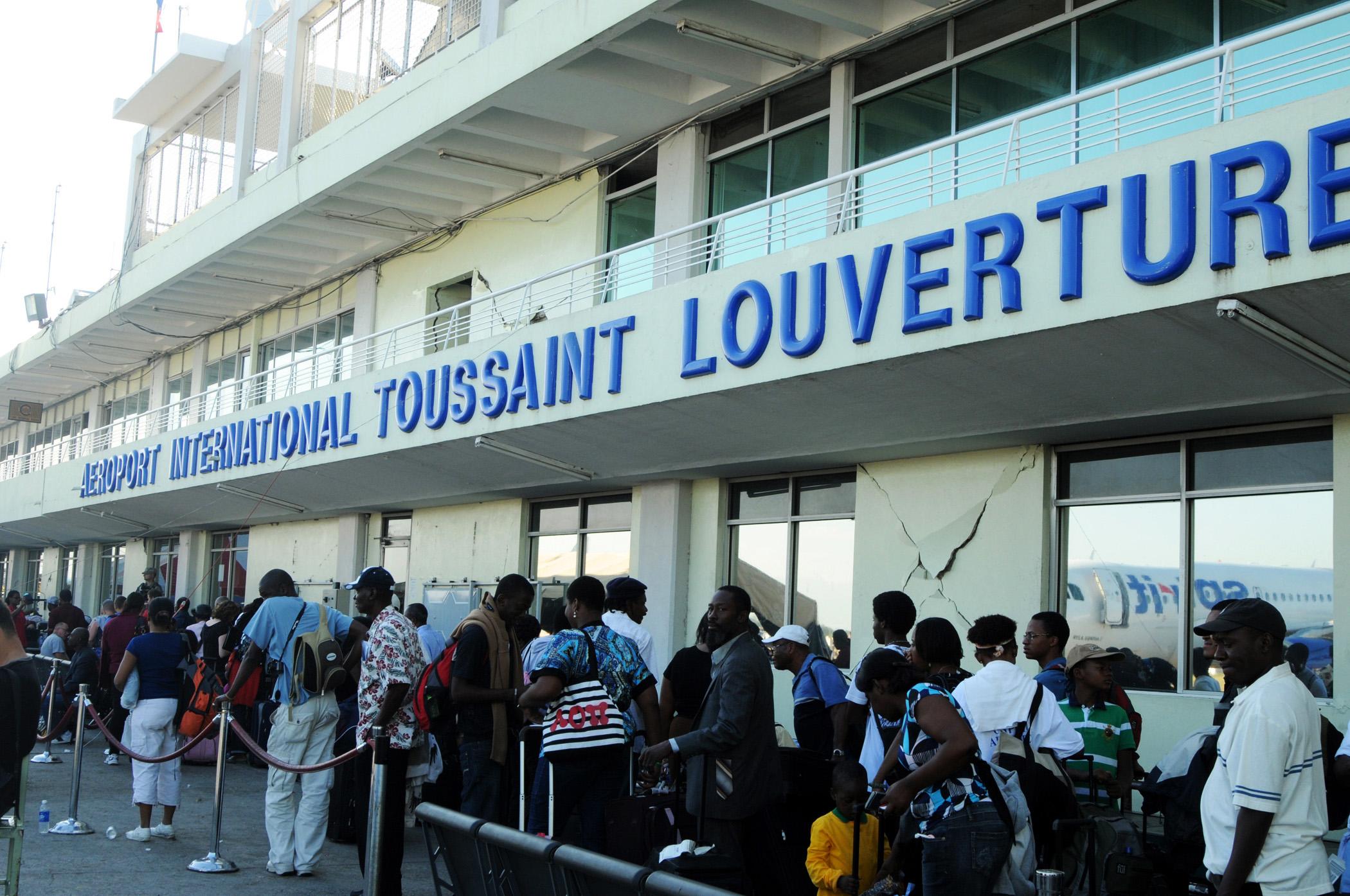 Operations at Haiti airport return to normal