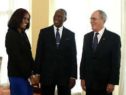 Bahamian Minister and leaders