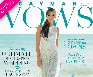 Cayman Vows Magazine Cover - Caribbean National Weekly News