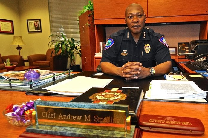 Police Chief Andrew Smalling - Caribbean National Weekly News