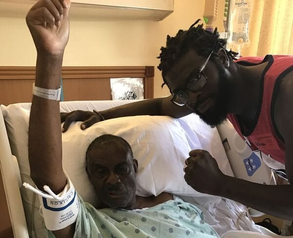 Francois Thimothee receiving medical treatment - Caribbean National Weekly News