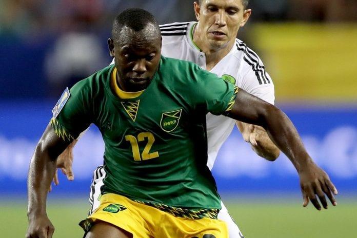 Romaro Williams playing soccer - Caribbean National Weekly News