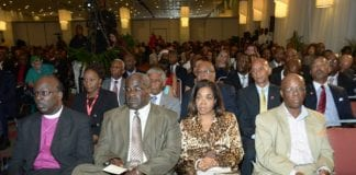 DIASPORA Delegates at conference - Caribbean National Weekly News