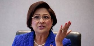 Persad-Bissessar meeting
