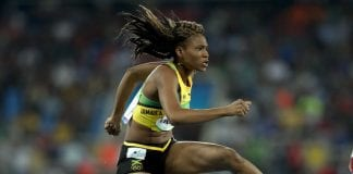 Ristanaanna Tracey at World Championships - Caribbean National Weekly News