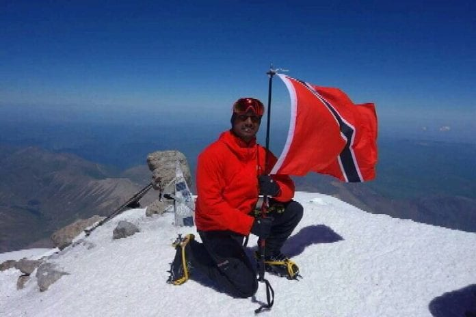 Henry Mungalsingh Climbs Mount Elbrus - Caribbean National Weekly News