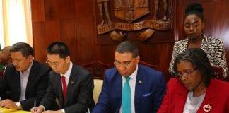 Jamaica- China Agreement - Caribbean National Weekly News