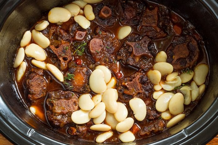 Oxtail and Beans Caribbean Cuisine - Caribbean National Weekly News