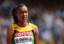 Stephenie McPherson at World Championships - Caribbean National Weekly News