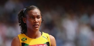 Stephenie McPherson at World Championships - Caribbean National Weekly News