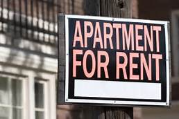 Apartment rentals sign - Caribbean National Weekly News