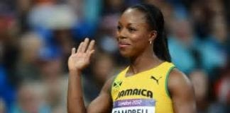 Jamaican Atletics star Veronica Campbell - Caribbean National Weekly News