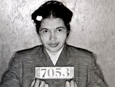 Rosa Parks mug shot prior to the civil rights movement that challenged racism in America - Caribbean National Weekly News