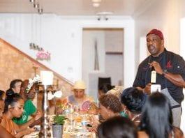 Chef Irie teaching a class - Caribbean National Weekly News
