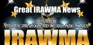 International Reggae and World Music Awards promo flyer - Caribbean National Weekly News