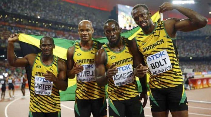 Usain Bolt at World Championships - Caribbean National Weekly News