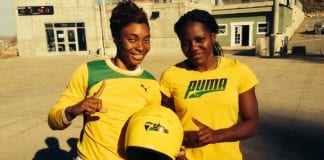 two woman Jamaican Bobsled team - Caribbean National Weekly News