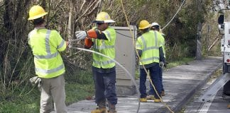 Linemen working to restore the large amount of power outages - Caribbean National Weekly News
