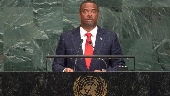 """The Foreign Affairs Minister of St. Kitts and Nevis in his address to the general Assembly of the United nations described the damages to Caribbean islands like Barbuda and Dominica as """"unimaginable."""""""
