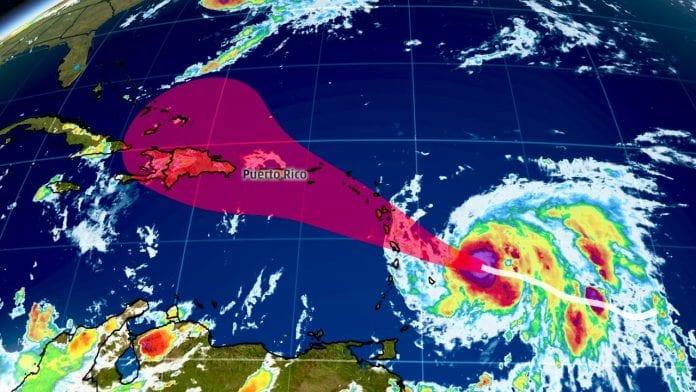 Hurricane Maria heads toward recently pummeled Leeward Islands - Caribbean National Weekly News