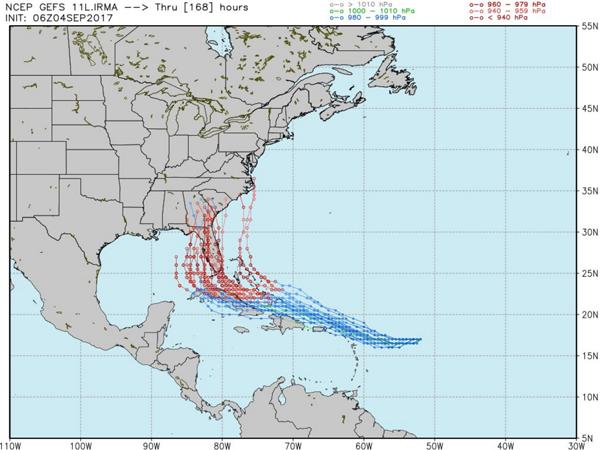 Florida governor South Florida now in Hurricane Irmas path