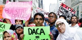 DACA protestors - Caribbean National Weekly News