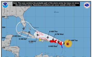 National Hurricane Service Updates Hurricane Irma and her projected path - Caribbean National Weekly News