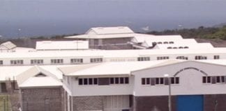 Prisoners arrive in St. Lucia from BVI