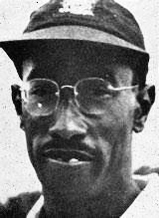 Salute: West Indies cricketer Alf Valentine