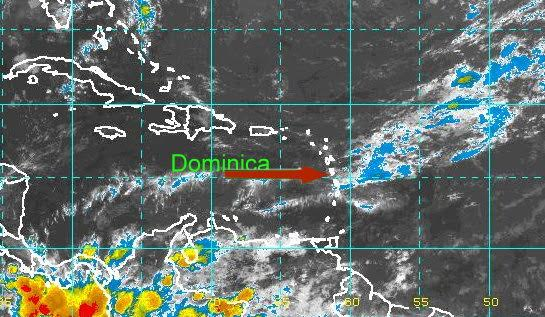 Dominica weather map - Caribbean News on