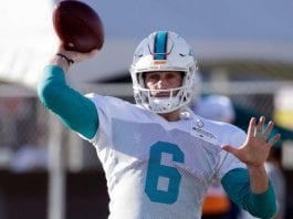 Dolphins rally from 0-17 to defeat Atlanta Falcons 20-17
